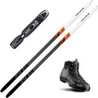 Country Crown Skipakke Langrennsski Med Binding + Støvel