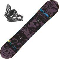 Evil Youth Snowboard Med Binding Barn