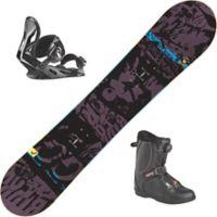 Evil Youth Snowboardpakke Med Binding + Støvel Barn