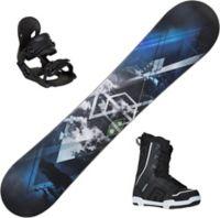 Furious Snowboard Med Binding + Støvel