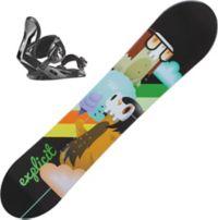 Explicit Jr Snowboard Med Binding