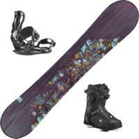 Stella Snowboardpakke Med Binding + Støvel