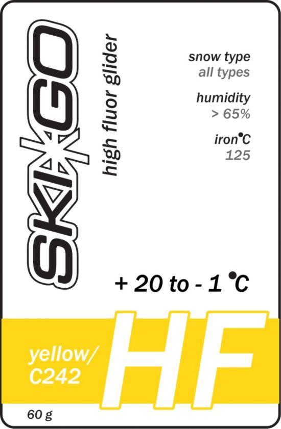 Hf Glider Gul +20/-1 Alle Snøt