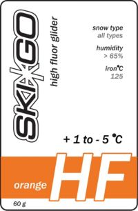 Skigo Hf Glider Orange +1/-5 Ny Til