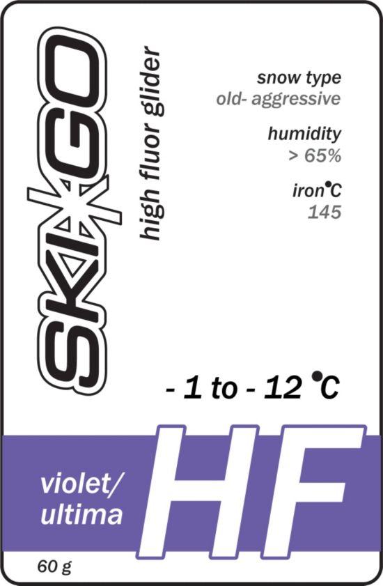 Skigo Hf Glider Violet -1/-12 Omdann