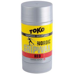 Nordic Gripwax festevoks rød