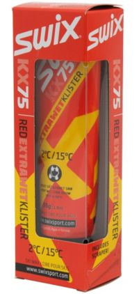 KX75 Red Extra Wet Klister Rød