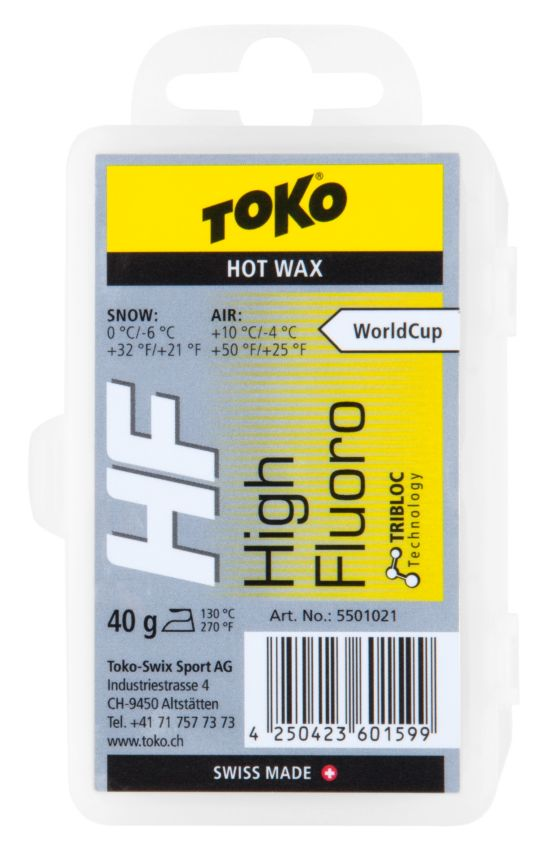 HF Hot Wax Yellow 40g