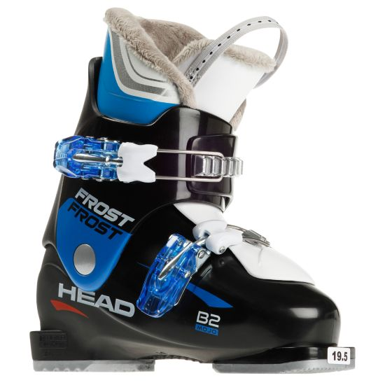 Frost Mojo Team Rider B2 Barn/Jr Alpinstøvel BLACK-BLUE