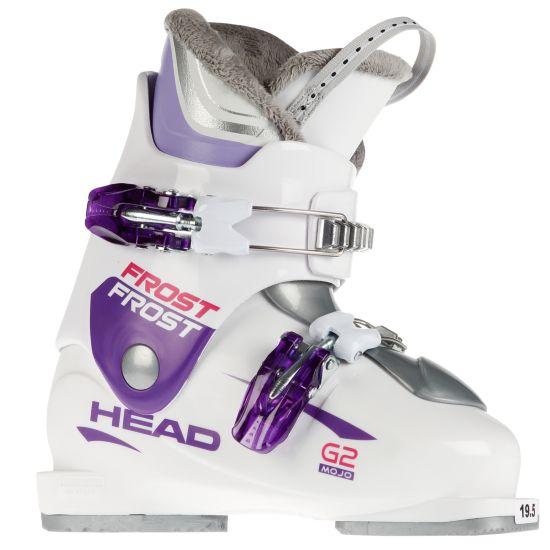 Frost Mojo Team Rider G2 Barn/Jr Alpinstøvel WHITE-PURPLE