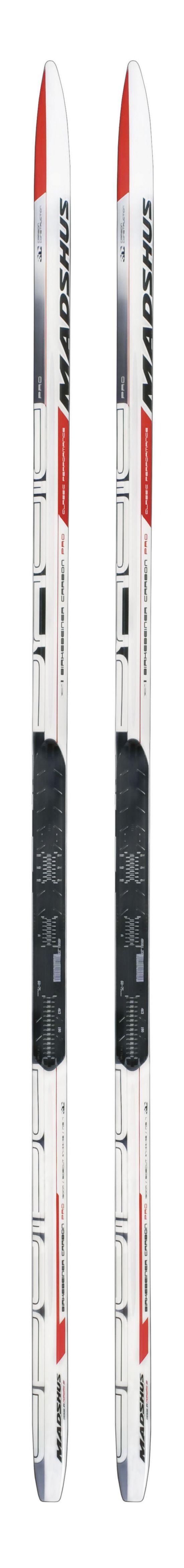 Birkebeiner Classic Carbon Pro Langrennski HVIT, SVART