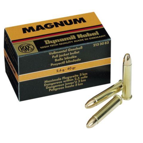 Riflepat. 22 Magnum Helm 50 Stk