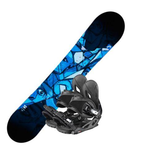Evil Youth snowboard m/ binding