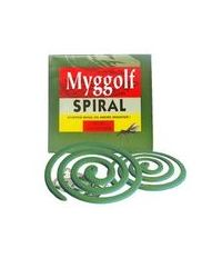 Myggspiral 10 Stk