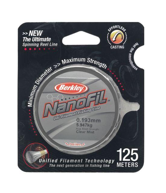 Nanofil 0,183Mm 125M Clear Mis