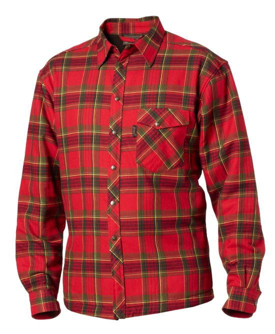 Vick Skjorte SPICY RED CHECK