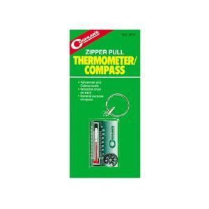 Zipper Pull termometer og kompass