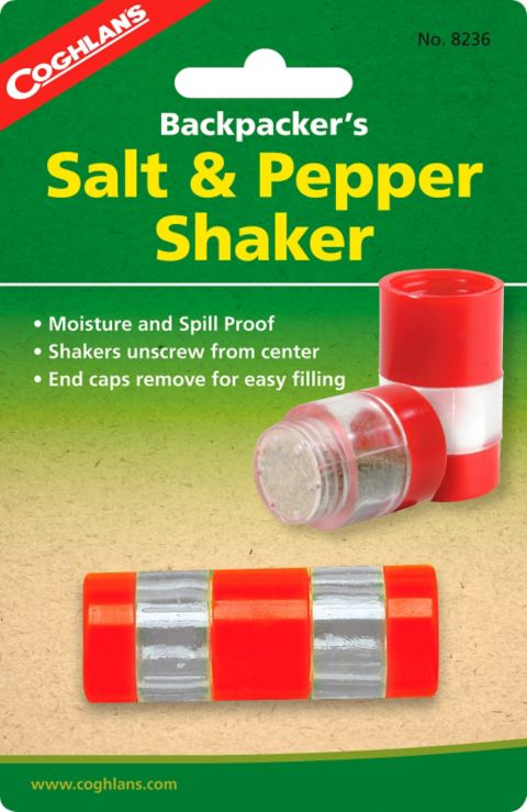Shaker salt & pepperbørse