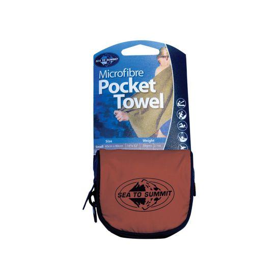 Pocket 80X40Cm Håndkle ASSORTERT7294