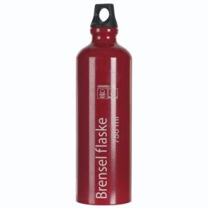 Alu brenselflaske 0,75 liter