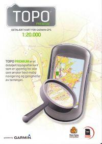 Micro SD-1:20 000, Elektronisk Kart - Jotunheimen
