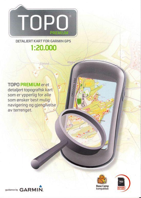 Micro SD-1:20 000, Elektronisk Kart - Nordkapp