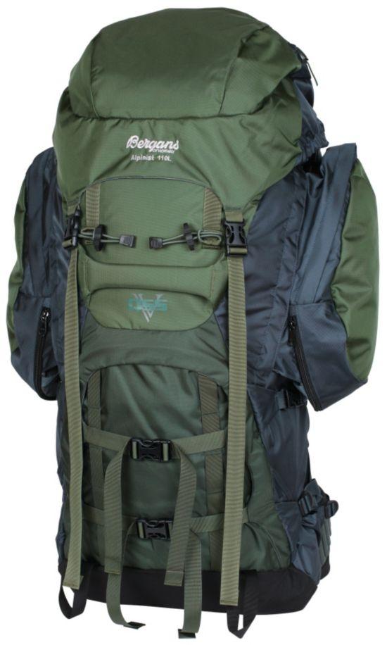 Alpinist Ryggsekk 110 L GREEN/DK GREEN