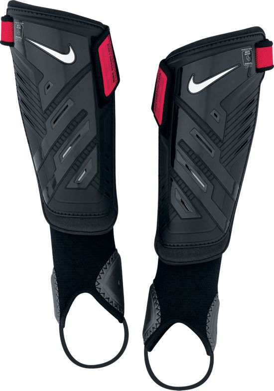 Protegga Shield Leggskinn 069-BLACK/RED/(