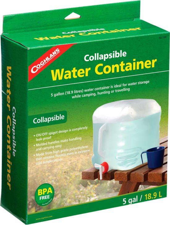 Vannbeholder sammenleggbar