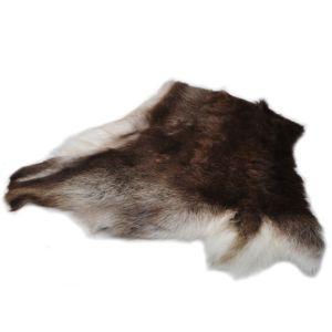 Impregnert reinsdyrskinn sitteplate