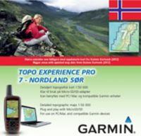 Topo Experience Pro 7 Elektronisk Kart - Nordland Sør