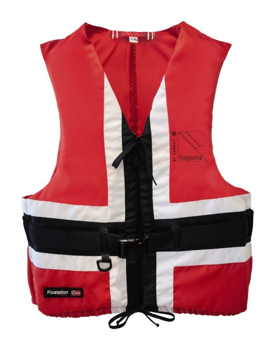 Pop Norway Flytevest RED/WHITE/NAVY