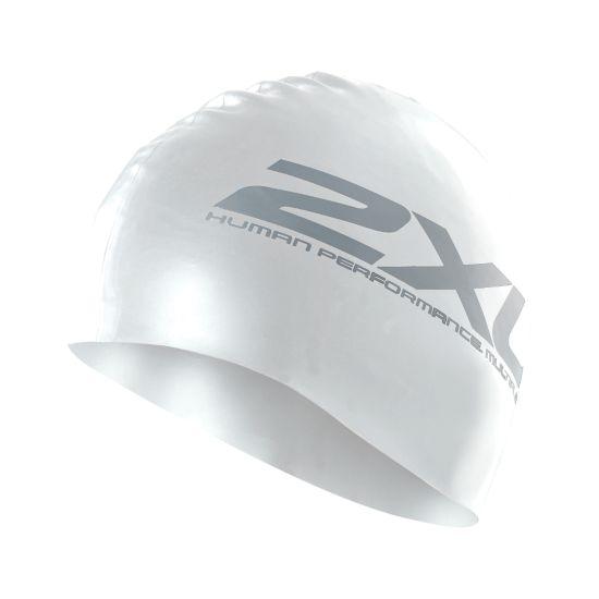 Silicone Badehette WHITE/WHITE