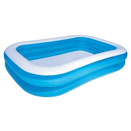 Blue Rectangular Family Pool